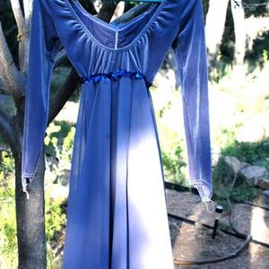 Curtain Call Costumes - Stretch Velveteen and Chiffon Fairy Costume